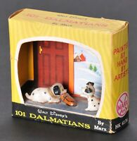 Marx Walt Disney Disneykins 101 Dalmatians Hungry Lucky in Box 1960s Rare