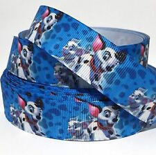 "GROSGRAIN RIBBON 7/8"" PUPPIES DOG DOGS  P10 USA SELLER"
