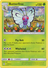 4X Butterfree Normal Rare (3/149) -Sun and Moon- -NM- Pokemon
