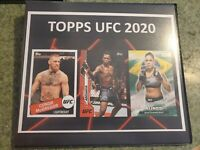 2020 Topps UFC 100 Card Base Set - Adesanya McGregor Khabib and many more stars!