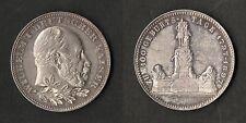 Alemania Kaiser Guillermo I 100th aniversario de su nacimiento Medallón De Plata 1897