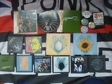 XTC BUNDLE CD/COASTER/BADGES/PATCH/SIGNED PUNK/INDIE/VINYL/RARE/JAPAN COPIES
