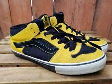 Vans Half Cab TNT II MIld Skateboarding Black Yellow Shoes Size 11.5 VTG