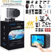 Akaso V50 Pro Native 4K 20MP Action Camera 30fps Sport DV Cam +40pcs Accessories