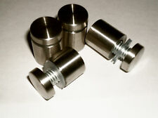 4x stainless steel stand off fixings