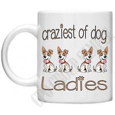 Craziest DOG Donna CUCCIOLO ANIMALI Novità MAMMA MOM Regali per lei tè tazza da caffè