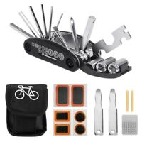 Bike Bicycle Repair Tool Kit, Cycling Multifunctional Mechanic Fix Tools Se T4M2