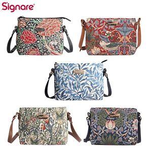 Crossbody Shoulder Bag Handbag Purse William Morris Designs Signare Tapestry