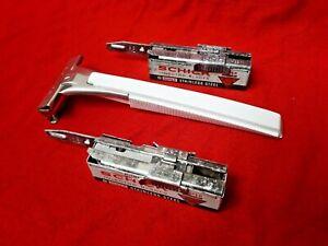 Schick Injector type L1 - vintage single edge - Rasoir de sûreté ancien U.S.A.