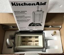 KitchenAid Model KRAV Stand Mixer Ravioli Maker Attachment, New Open Box