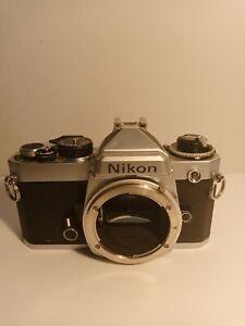 Nikon fe body. Spares or repair
