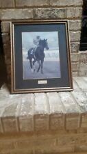 Ruffian - Champion Filly Race Horse - Framed Photo Art Print - RARE!!!!!!!!!!