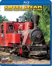 Sweet Steam Sugar Cane Railways of Java Indonesia BLU-RAY NEW Highball Awesome!