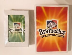 Brainetics Math Memory Amazing Flash Cards and Playing Cards Only - New Sealed
