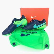 Nike Tiempo Legend VI FG Soccer Cleats Coastal Blue 819177-443 Sz 7.5