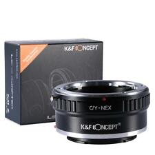K&F Adapter, Contax Yashica Objektive auf Sony E NEX 3 5 6 7 a6000 a5000 a7 a7r