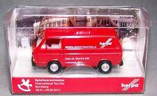 "Herpa Special model (H0): VW T3 Box truck ""Herpa"" - Exhibition 2014 Nϋrnberg"