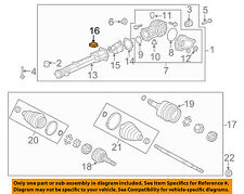GM OEM Axle Differential-Rear-Module 23451040