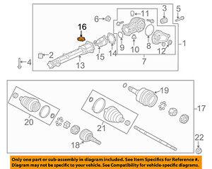GM OEM Axle Differential-Rear-Module 23451040