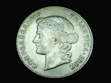 Schweiz-CH.,  5 Franken, 1892 B, Kursmünze, Silber, orig., ss/vz.!