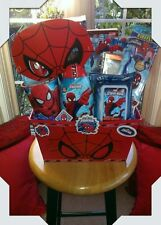 SpiderMan Theme Gift Basket Made By Norma's Unique Gift Basket