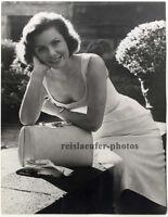 Margit Nuenke, Miss Germany 1956, Original Presse-Photo von 1956.