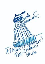 Dr Who Dalek Drawing by Peter Capaldi