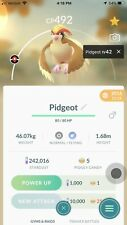 Pokemon Go Pidgeot Legacy 2016 Wing Attack/Aerial Ace Under 1500 Jungle Cup PVP