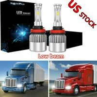 Pair New D2S Xenon HID Headlight Bulbs Low Beam for PETERBILT 579 2013 2014 2015