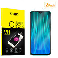 2-Pack Khaos For Xiaomi Redmi Note 8 Pro Tempered Glass Screen Protector