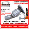 Renault Clio 1.4i 1998-2005 Easy DIY Flex Flexi Replacement For Exhaust Cat Pipe