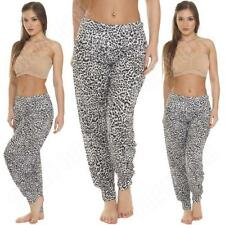 Harem Loose Fit Mid Rise Trousers Size Petite for Women