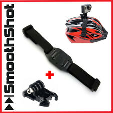 VENTED HELMET STRAP MOUNT FOR GOPRO 5 4 3 2 CAMERA + QUICK RELEASE BUCKLE MOUNT