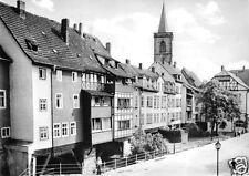 AK, Erfurt, Krämerbrücke, Südseite, 1976