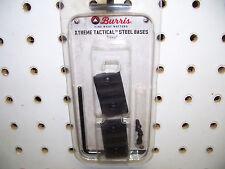 Burris 410630 Xtreme Tactical Steel Bases Fits Tikki Rifles Matte Black