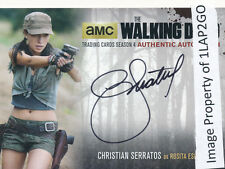 Walking Dead Season 4 Part 2 CS2 Christian Serratos Rosita Autograph Auto D