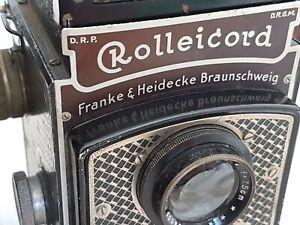 Rolleiflex Rolleicord Art-Deco Triotar 7.5cm f4.5 [FROM AUSTRTALIA]