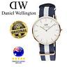 Daniel Wellington Glasgow Silver Nato Strap Analog 0104Dw Watch