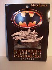 Batman 1989 Ala de Murciélago Metal Tierra 3D Láser Cortar Metal Puzzle por Fascinations