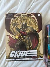 Gi Joe Classified Exclusive Cobra Supreme Cobra Commander Hasbro Exclusive