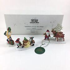 Department 56 North Pole Santas Little Helpers 5610-3 Christmas Decoration 3pc