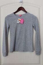 New HEART SOUL GIRLS LONG SLEEVE Grey TOP Size L. NWT