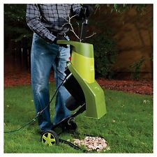 Wood Chipper Grinder Shredder Electric Mulcher Garden Yard Lawn Branch Leaf New