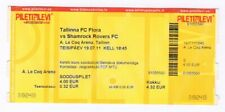 ticket FC Flora Tallinn Estonia - Shamrock Rovers FC Ireland 19.07.2011 CL