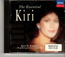 (FH777) The Essential Kiri, Kiri Te Kanawa - 1992 CD
