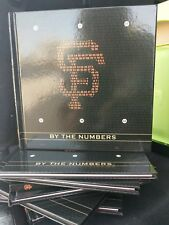 SF Giants 2018 Book By the Numbers  SGA not bobblehead 08/12 Bonds 25 Mays 24