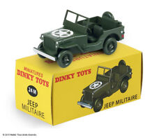 Jeep version Militaire / US Army Noël 2015 ref 24 M au 1/43 de dinky toys atlas