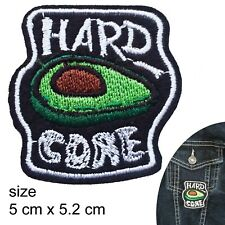 Hard core iron on - patch guacamole proud smashed avocado generation patches
