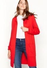 Principles - Red Plain Edge to Egde Cardigan, UK 10, Brand New