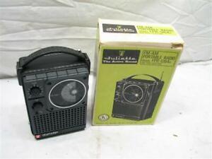 Vintage Juliette AM/FM Portable Radio FPR-1264A IOB Active Sound, Nice Cond